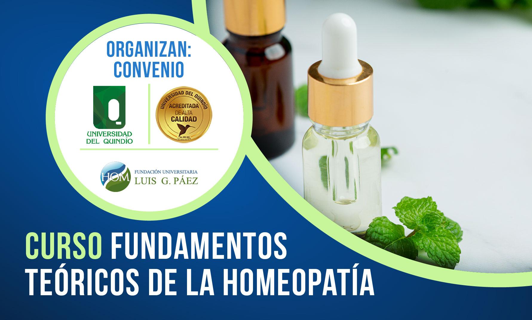 Curso Fundamentos Teóricos de la Homeopatía